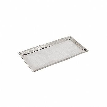 Emanuel Stainless Steel Hammered Tray