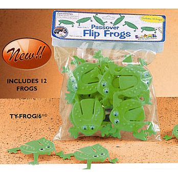 Passover Flip Frogs - Bag of 8