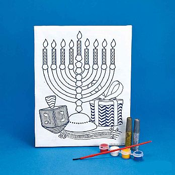 Canvas Art Hanukkah Kit