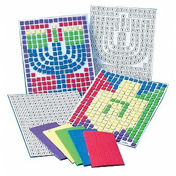 Hanukkah Foam Mosaic Foams with Cards