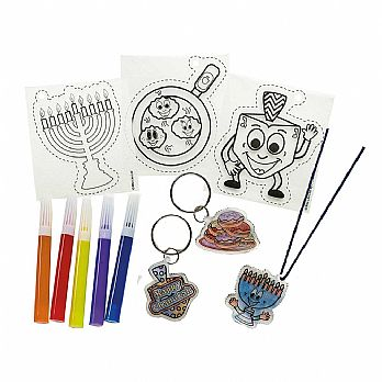 Hanukkah Shrink Art Keychain Kit