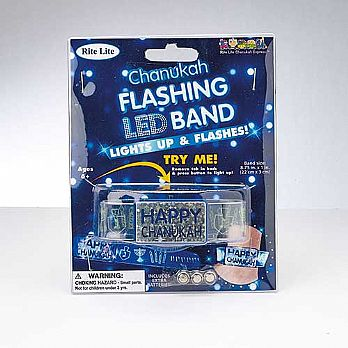 Chanukah Flashing LED Band