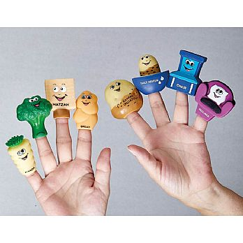 4 Questions Finger Puppet Kit