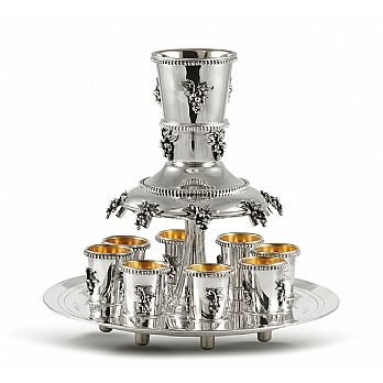 Sterling Silver Wine Fountains
