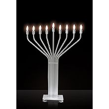 Electric Menorahs For Hanukkah Modern Eco Friendly Styles Low Voltage