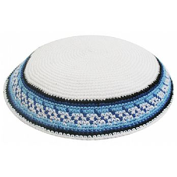 Personalized Knit Kippot - Mizrachi
