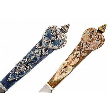 Exquisite Challah Knife - Royal